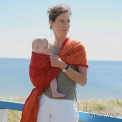DIDYMOS wrap, Ellipses Red
